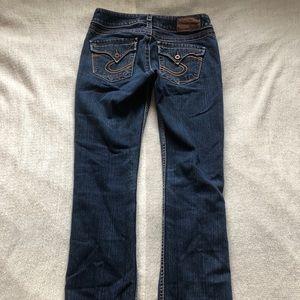 Silver Makenzie Jeans